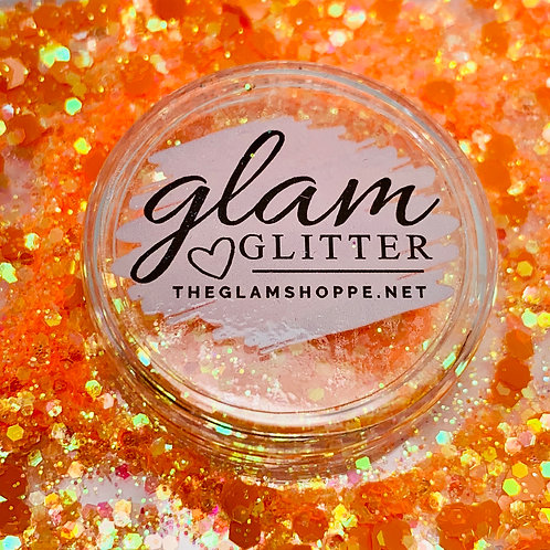 Glam Glitter - Mix - Tangerine 🍊