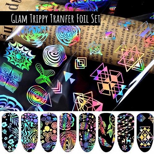 Glam Trippy Transfer Foil Set (8 pc)
