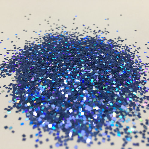 Glam Glitter-Deep Cyan 1mm Square