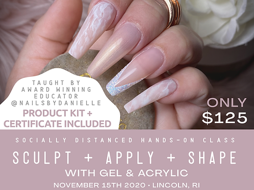 Glam Education Academy - Sculpt + Apply + Shape - Hands On Class