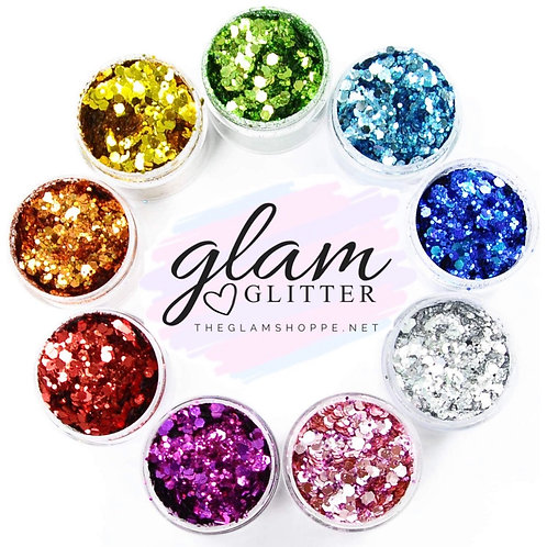 Glam Glitter - Classic Classy Primary Chunky Collection