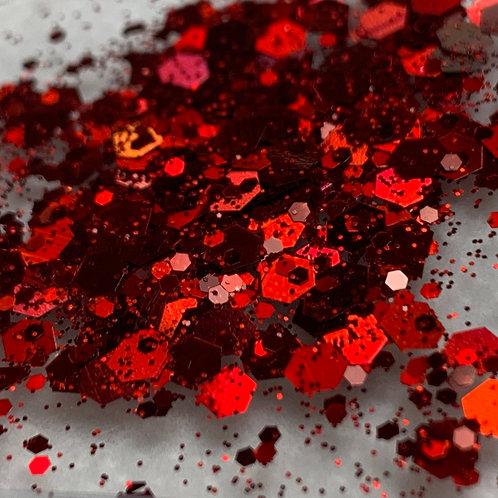 Glam Glitter - Mix - Cherry Slushee 🍒