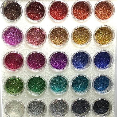 Glam Glitter - Cosmetic Holo Master Artist Set