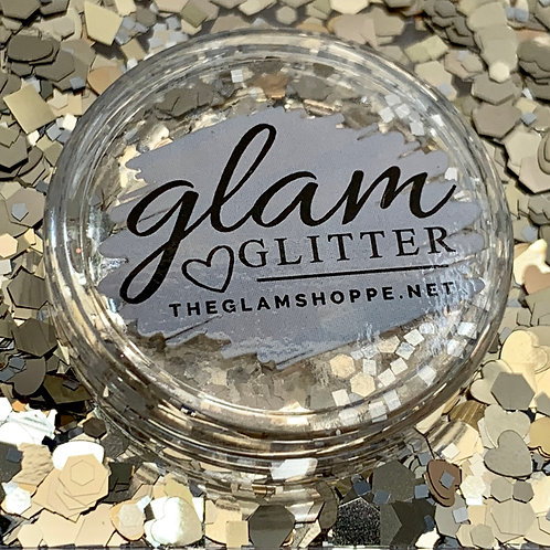 Glam Glitter - Mix - Gold Dip
