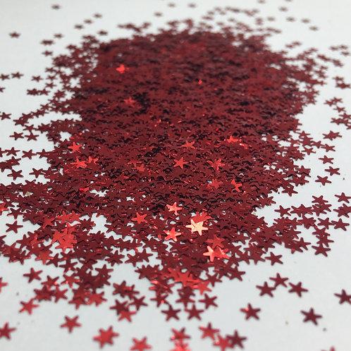 Glam Glitter- America 2.5mm Star