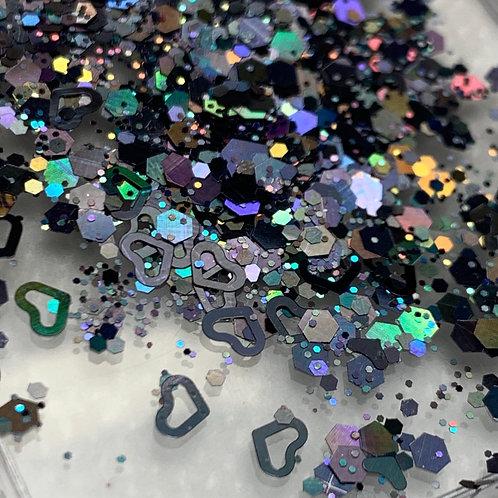 Glam Glitter - Mix - Graphite Affair