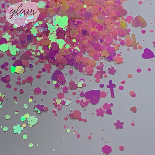 Glam Glitter - Mix - Pink Smoothie Kawaii Mix
