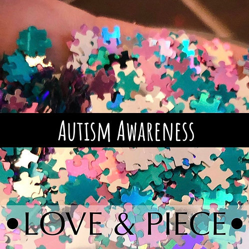 Glam Glitter - Shapes - Love & Peace ✌🏽 | Autism Awareness Mix
