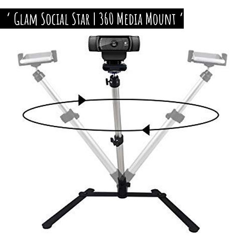 Glam Social Media Star 360 Mount