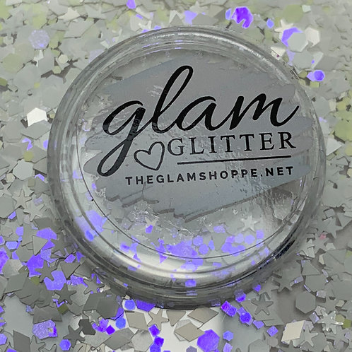 Glam Glitter - Mix - White Lightning