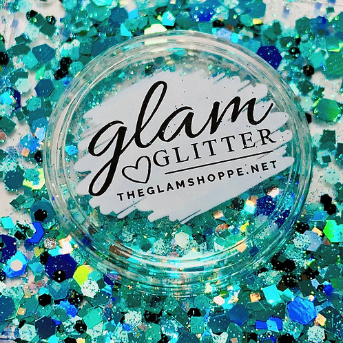 Glam Glitter - Mix - Isle of Teal