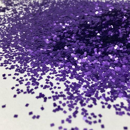 Glam Glitter- Pearl Violeta 1mm SQ