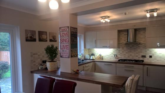 Kitchen Redecoration
