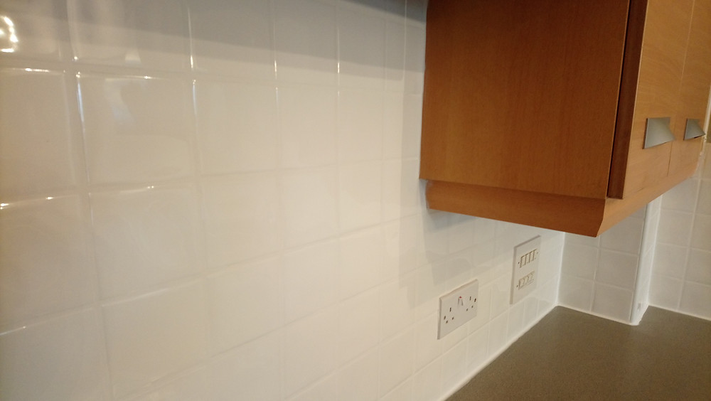 Kitchen Tiles after regrouting