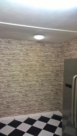 Slate Brick Effect Wallpaper