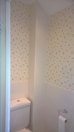 Bathroom wallpaper Carterton