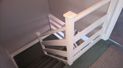 Hall stairs & Landing painting