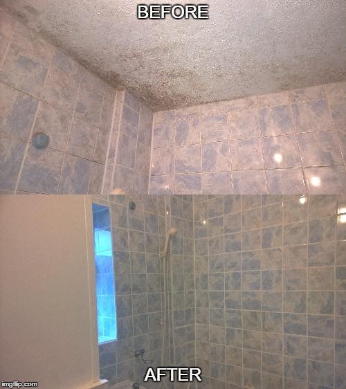 Bathroom regrout
