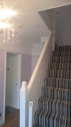 Hall, Stairs and Landing painting
