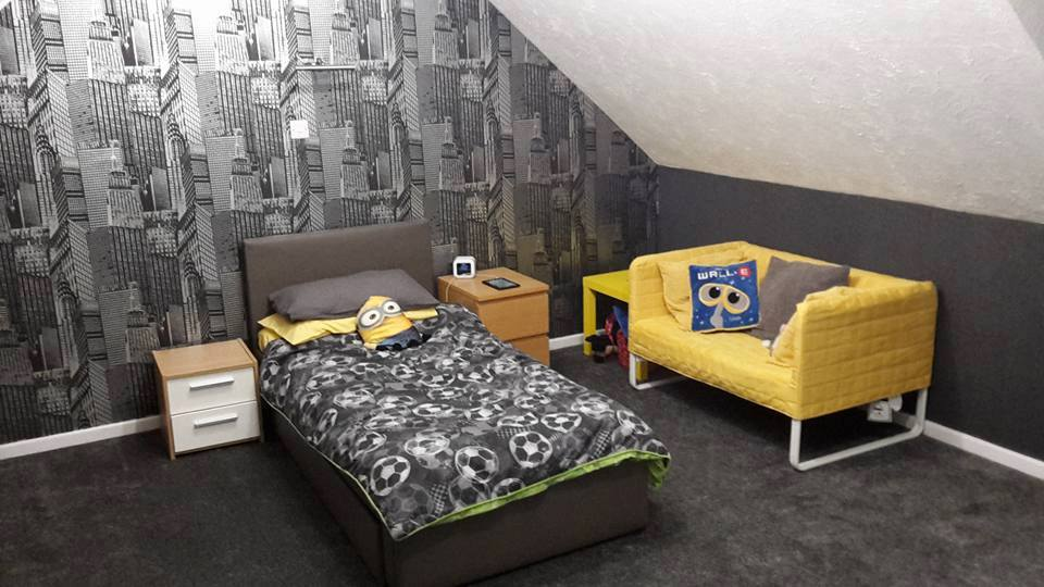 Boys bedroom decorating