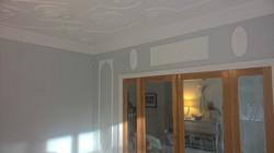 Painted plaster work Maidenhead