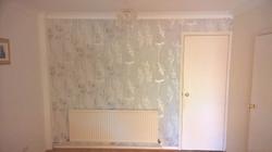 Feature wall wallpaper