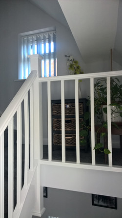 Hall Stairs and lading project