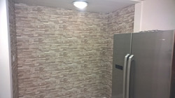 Brick wall paper fitted in Slough