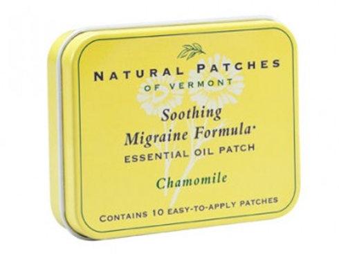 Natural Patches ~ Chamomile / Headache & Migraine