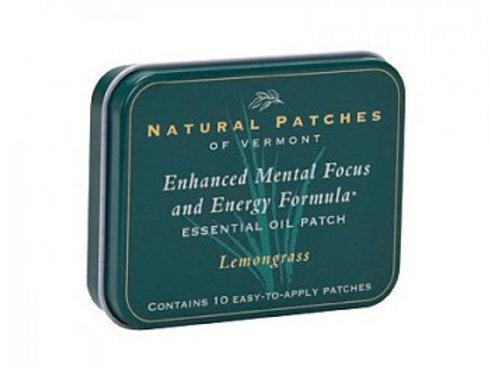 Natural Patches ~ Lemongrass /Mental Focus Formula