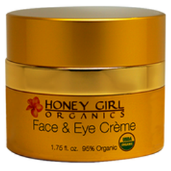 Honey Girl Organics Face and Eye Creme, 1.75 Oz.