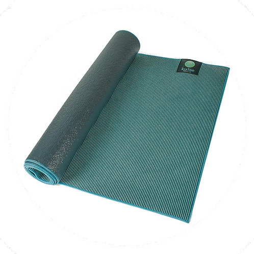 Kulae Elite Hot Hybrid Yoga Mat, Blue