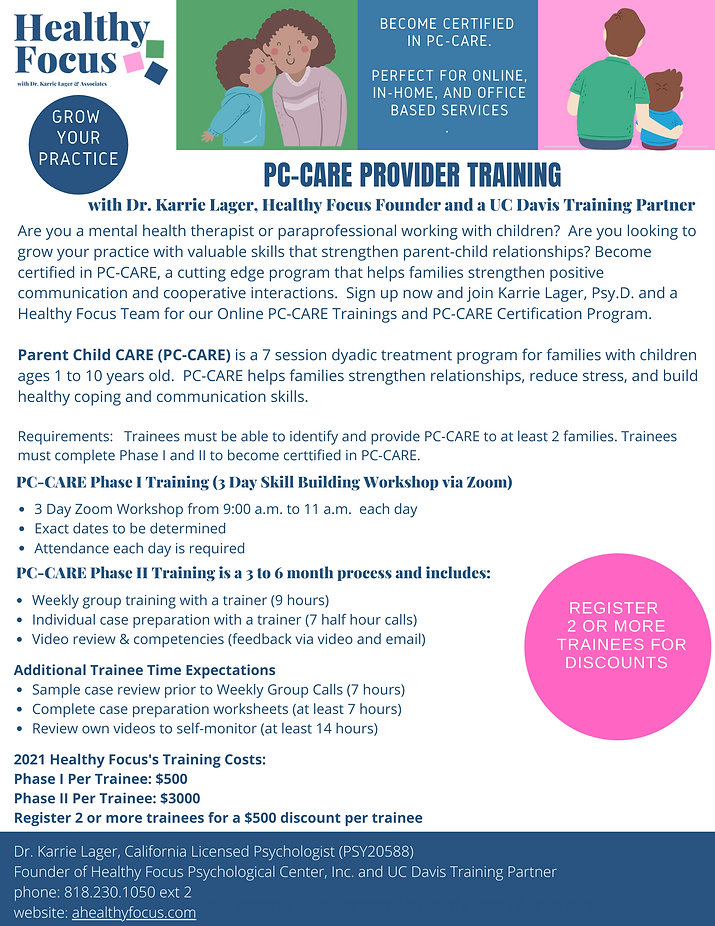 2021 Revised  PC-CARE PHASE 1 &  2 TRAIN