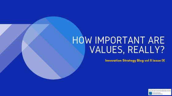 How important are values in business, really?