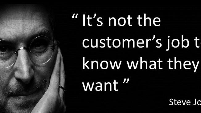 The Philosophy Of Customer Jobs