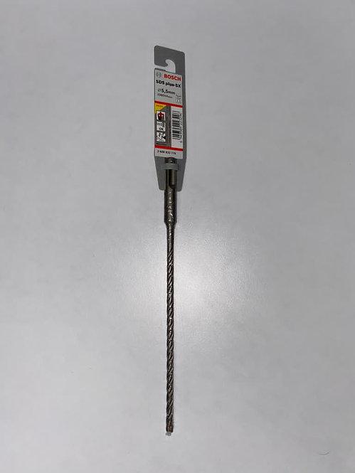 Bosch SDS- Plus3 Drill bit 5.5mmx160mm (Pack of 10) Excluding VAT