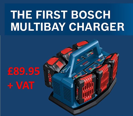 Bosch Multibay Charger Excluding VAT