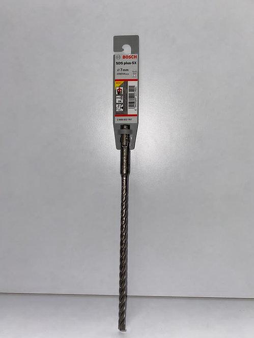 Bosch SDS- Plus   3   Drill   Bit 7.0mm x 160mm (Pack of 10) Excluding VAT