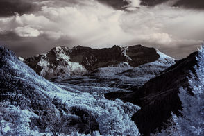 Infrared Mountains