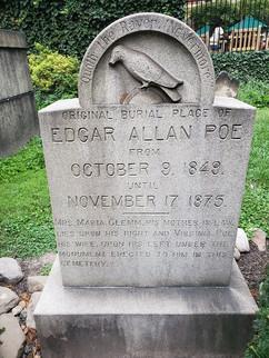 Gravesite of Edgar Allan Poe