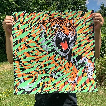 Tiger Shred - Art Print