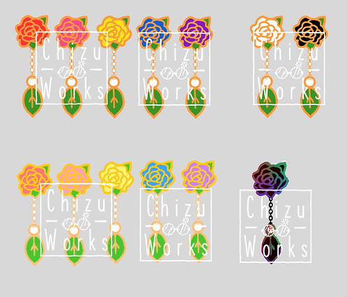 Rose Pin Board Fillers