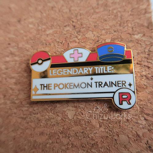 Legendary Title: Pokemon Trainer