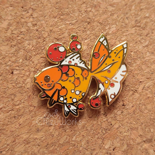 Goldfish Enamel Pin