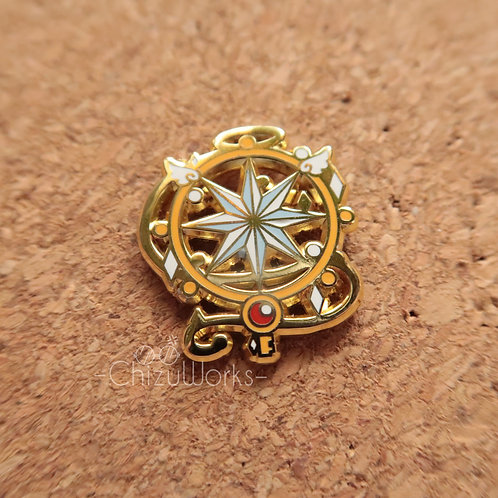 Card Captor Sakura: Dream Wand Enamel Pin