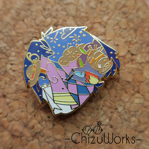 Studio Ghibli: Howl's Moving Castle Enamel Pin