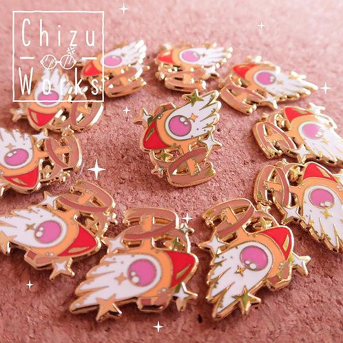 Card Captor Sakura: Clow Wand Enamel Pin