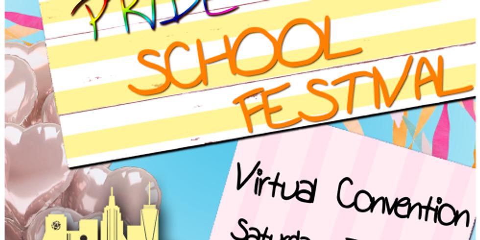 Online Artist Alley @NYCG Pride School Festival 2020