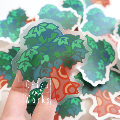 Animal Crossing Tree Sticker