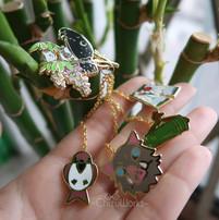 Demon Slayer Chain Pins